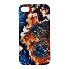Wow Art Brave Vintage Style Apple Iphone 4/4s Hardshell Case With Stand