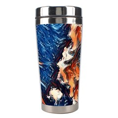 Wow Art Brave Vintage Style Stainless Steel Travel Tumblers