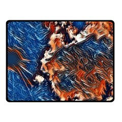 Wow Art Brave Vintage Style Double Sided Fleece Blanket (small)