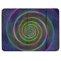 Spiral Fractal Digital Modern Samsung Galaxy Tab 7  P1000 Flip Case by Sapixe