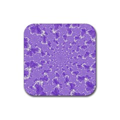 Wallpaper Mandelbrot Desktop Art Rubber Square Coaster (4 Pack)  by Sapixe