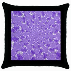 Wallpaper Mandelbrot Desktop Art Throw Pillow Case (black)