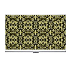 Golden Ornate Intricate Pattern Business Card Holders