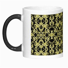Golden Ornate Intricate Pattern Morph Mugs