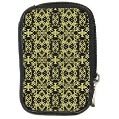 Golden Ornate Intricate Pattern Compact Camera Cases