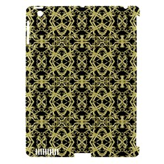 Golden Ornate Intricate Pattern Apple Ipad 3/4 Hardshell Case (compatible With Smart Cover)