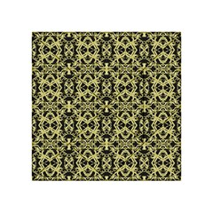Golden Ornate Intricate Pattern Acrylic Tangram Puzzle (4  X 4 )