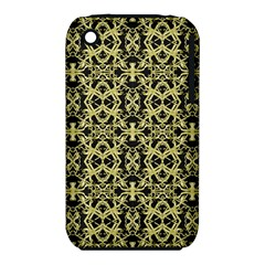 Golden Ornate Intricate Pattern Iphone 3s/3gs