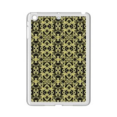 Golden Ornate Intricate Pattern Ipad Mini 2 Enamel Coated Cases