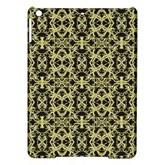 Golden Ornate Intricate Pattern Ipad Air Hardshell Cases