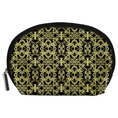 Golden Ornate Intricate Pattern Accessory Pouches (large)
