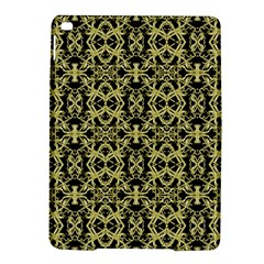 Golden Ornate Intricate Pattern Ipad Air 2 Hardshell Cases