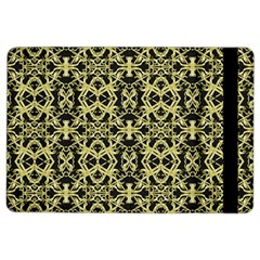 Golden Ornate Intricate Pattern Ipad Air 2 Flip