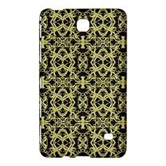 Golden Ornate Intricate Pattern Samsung Galaxy Tab 4 (7 ) Hardshell Case