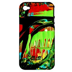 Quiet Place Apple Iphone 4/4s Hardshell Case (pc+silicone)