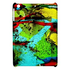 Yellow Dolphins   Blue Lagoon 6 Apple Ipad Mini Hardshell Case