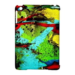 Yellow Dolphins   Blue Lagoon 6 Apple Ipad Mini Hardshell Case (compatible With Smart Cover)