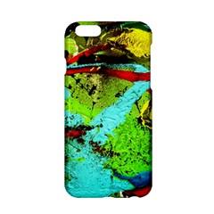Yellow Dolphins   Blue Lagoon 6 Apple Iphone 6/6s Hardshell Case
