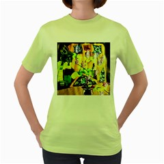 Lilac On A Counter Top 1 Women s Green T Shirt