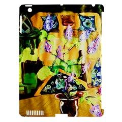 Lilac On A Counter Top 1 Apple Ipad 3/4 Hardshell Case (compatible With Smart Cover)