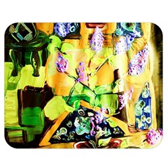 Lilac On A Counter Top 1 Double Sided Flano Blanket (medium)