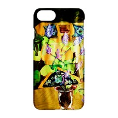 Lilac On A Counter Top 1 Apple Iphone 8 Hardshell Case