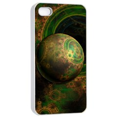 Tiktok s Four Dimensional Steampunk Time Contraption Apple Iphone 4/4s Seamless Case (white) by jayaprime