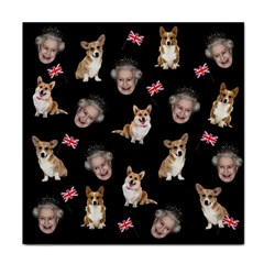 Queen Elizabeth s Corgis Pattern Tile Coasters