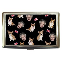 Queen Elizabeth s Corgis Pattern Cigarette Money Cases