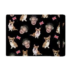 Queen Elizabeth s Corgis Pattern Apple Ipad Mini Flip Case