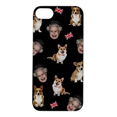 Queen Elizabeth s Corgis Pattern Apple Iphone 5s/ Se Hardshell Case