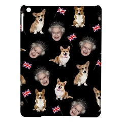 Queen Elizabeth s Corgis Pattern Ipad Air Hardshell Cases