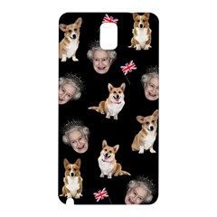 Queen Elizabeth s Corgis Pattern Samsung Galaxy Note 3 N9005 Hardshell Back Case
