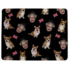 Queen Elizabeth s Corgis Pattern Jigsaw Puzzle Photo Stand (rectangular)