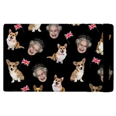 Queen Elizabeth s Corgis Pattern Apple Ipad Pro 9 7   Flip Case