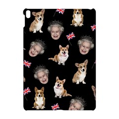 Queen Elizabeth s Corgis Pattern Apple Ipad Pro 10 5   Hardshell Case