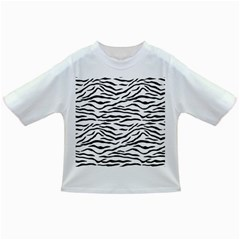 Black And White Tiger Stripes Infant/toddler T Shirts