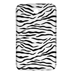 Black And White Tiger Stripes Samsung Galaxy Tab 3 (7 ) P3200 Hardshell Case