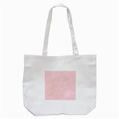 Elios Shirt Faces In White Outlines On Pale Pink Cmbyn Tote Bag (white) by PodArtist