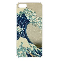 The Classic Japanese Great Wave Off Kanagawa By Hokusai Apple Iphone 5 Seamless Case (white)