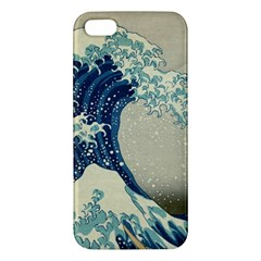 The Classic Japanese Great Wave Off Kanagawa By Hokusai Apple Iphone 5 Premium Hardshell Case