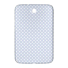 Alice Blue Quatrefoil In An English Country Garden Samsung Galaxy Note 8 0 N5100 Hardshell Case