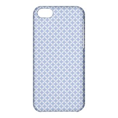 Alice Blue Quatrefoil In An English Country Garden Apple Iphone 5c Hardshell Case by PodArtist