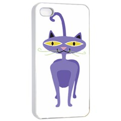 Cat Clipart Animal Cartoon Pet Apple Iphone 4/4s Seamless Case (white) by Sapixe
