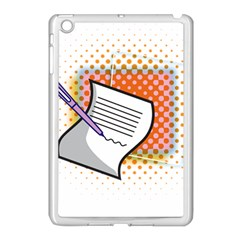 Letter Paper Note Design White Apple Ipad Mini Case (white) by Sapixe