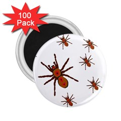Nature Insect Natural Wildlife 2 25  Magnets (100 Pack)  by Sapixe