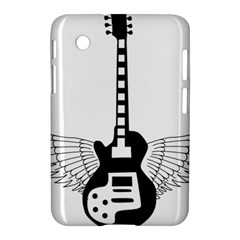 Guitar Abstract Wings Silhouette Samsung Galaxy Tab 2 (7 ) P3100 Hardshell Case
