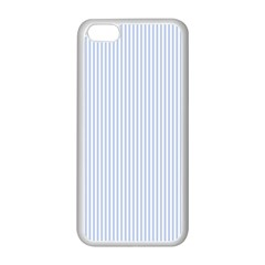 Alice Blue Pinstripe In An English Country Garden Apple Iphone 5c Seamless Case (white)