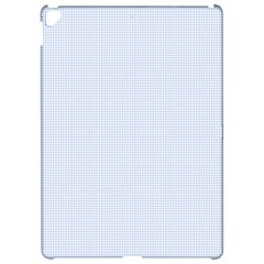 Alice Blue Houndstooth In English Country Garden Apple Ipad Pro 12 9   Hardshell Case by PodArtist