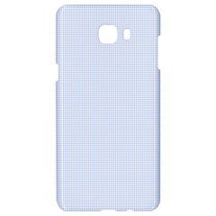 Alice Blue Houndstooth In English Country Garden Samsung C9 Pro Hardshell Case